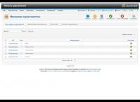 Менеджер динамических характеристик товаров (админка)