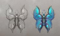 """бабочка для проекта """"mantis"""""""