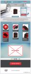 Дизайн Landing page для продажи чехлов для шин