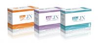 Упаковка косметики компании Re`JN
