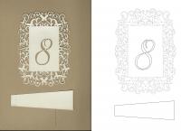 табличка с номером на стол
