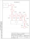 (НВК) - Спортинтернат - Схема канализации К-1