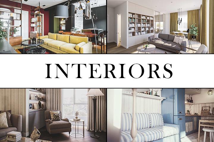 Визуализация интерьеров, мебели и декора