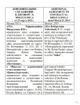 Перевод соглашения с русского языка на английский