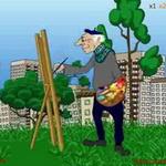 Рекламный ролик для ТВ «Художник»