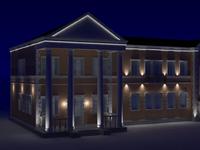 3D моделинг освещения