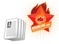 Bronevik on bootstrap