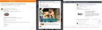 Размещение постов в социальных сетях (Одноклассники, Вконтакте,