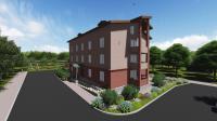 Проект 3-х этажного многоквартирного жилого дома
