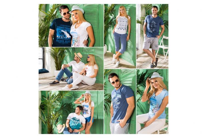 Фотосъемка для каталога домашней одежды SeaSide BeGood