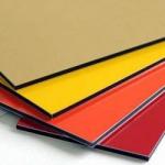 Фасадный алюминиевый композитный материал