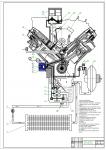 Схема смазочной системы двигателя КамАЗ
