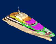 Архитектура моторной яхты