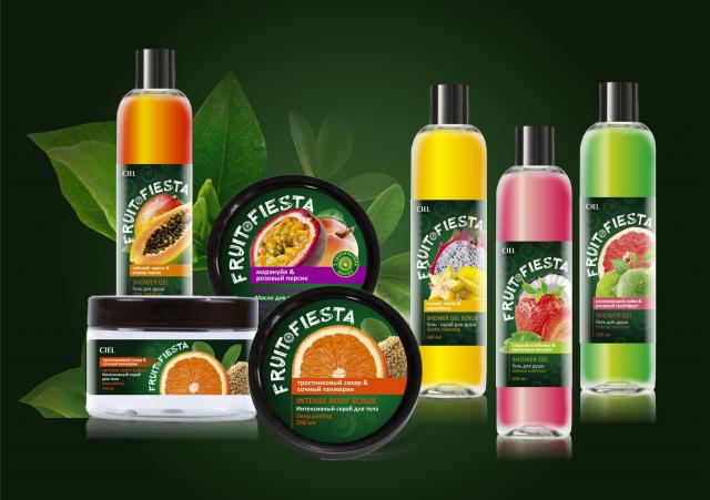 ТМ и упаковка Fruit Fiesta для компании CIEL