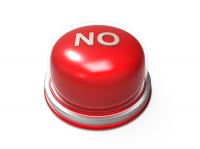 Кнопка NO