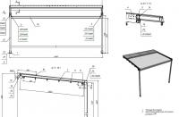 Конструкции из алюминиевых профилей
