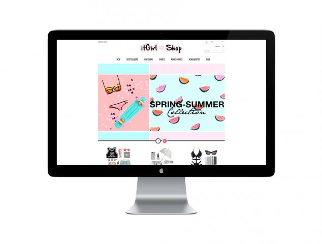Интернет-магазин для девушек