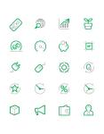 Сет иконок для Landing page RES
