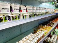 """этикетки на молочную продукцию """"Органик-Маркет"""""""