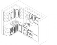 Проектирование угловой мебели для кухни
