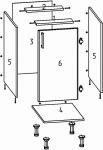 Разработка карт распила и документации для изготовления мебели