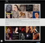 Сайт-визитки фотографа и художника