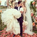Лендинг на свадебную тему