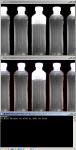 Определение наполненности бутылок по фотографии