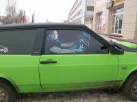 Арт изображение на боковые стекла автомобиля.