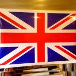 Флаг Великобритании на крышу Reng Rover Sport