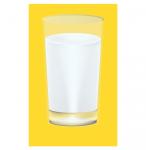 Стакан с молоком