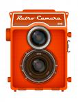 Векторная отрисовка фотоаппарата Любитель 166В