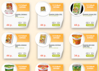 Заполнение Интернет-Супермаркета