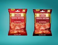 дизайн упаковки мясных чипсов