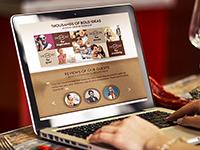 Дизайн для сайта кофеен в Москве