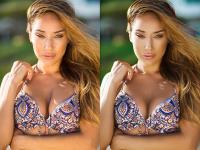 до и после солнце
