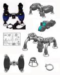 Дизайн и конструкция гидро-реактивного устройства
