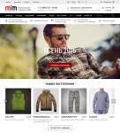 LP Лэндинг-пейдж. Одежда из США. Интернет-магазин.