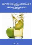 Маркетинговое исследование рынка Яблочного концентрата в России