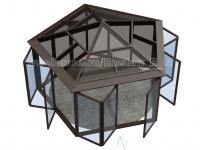 3D визуализация (Альтанка)