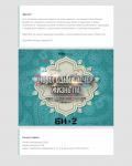 HTML-шаблон для рассылки приглашений на новогодний корпоратив