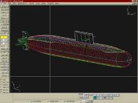 Обводы подводной локи Амур-1650