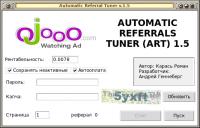 Автоматизация работы с реферальной системой Ojooo