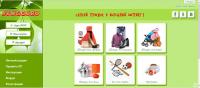 Создание дизайна, вёрстка главной страницы сайта-каталога