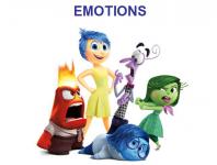 "Презентация (новая лексика ""эмоции"" через мультик Inside out"