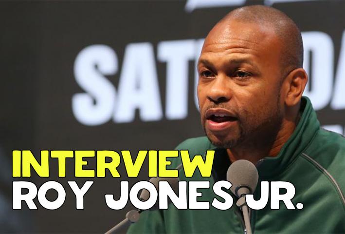Roy Jones Jr. Interview