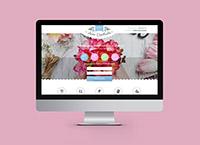 Lending Page свадебного флориста