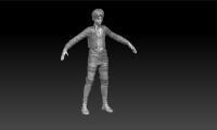 Eren Jeager (гейм диз - скульптинг)    8000 руб.