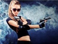 Пострелять в тире из боевого оружия с девушкой