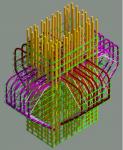 Армирование колонны с короткими консолями
